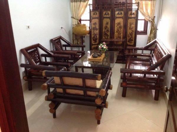 bàn ghế tre nhà hàng