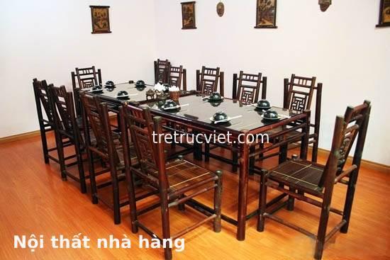 bộ bàn ghế tre rẻ
