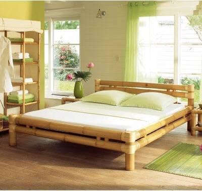 giường tre đẹp