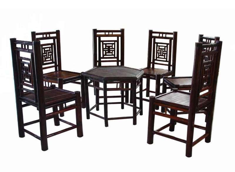 bàn ghế tre xưởng tre việt